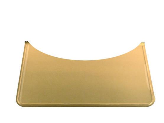 Rounded Floor Guard, brass - Floor plates, brass - 701-006-7 - 1