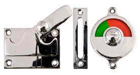 Bathroom surface lock, opening outwards - Toilet door locks - 104-015-8 - 1
