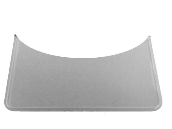 Rounded Floor Guard, galvanized - Floor plates, zinc-plated - 701-004-8 - 1