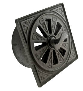 Air Vent, cast iron - Ventilation valves for interior walls - 719-015-19 - 1