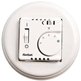 Underfloor heating control switch - Electrical accessories, white - 516-025-9 - 2