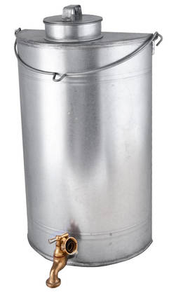Water tank, with tap - Sheet metal products - 949-035-9 - 1