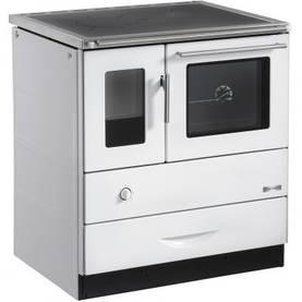 Hormiliitäntä oikealla, valkoinen - Wood-burning cookers - 715-019-9 - 1